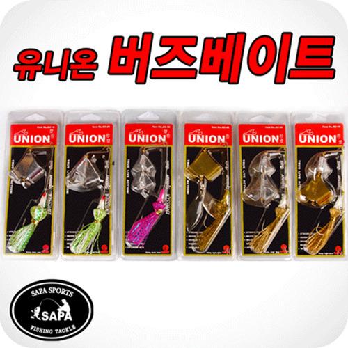 UNION 버즈베이트 6종 중 선택 [3/8oz] 강력한 훅/날렵한 스커트/루어낚시 스피너베이트 배스낚시 루어소품 루어미끼 낚시바늘