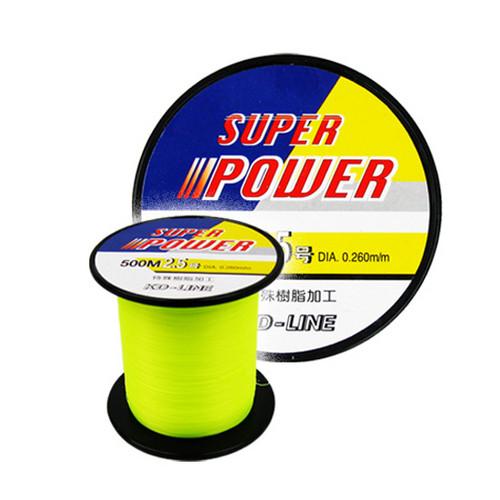[OURIX] SUPER POWER 민물/바다낚시줄-500M